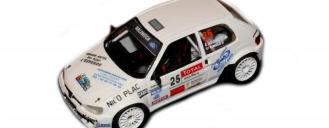 Montage EHL43 (série limitée) Decals SRD 43 Créations Peugeot 106 S2000 n°25 Yannick Vivens /Christophe Valibouze 10ème au Scratch Critérium des Cévennes 2008 Vainqueur Groupe F2000