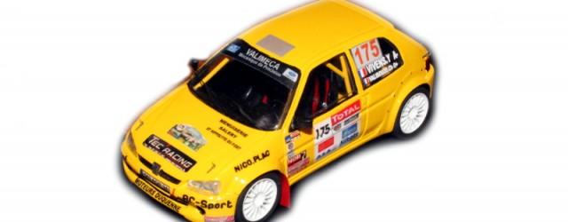 Montage EHL43 (série limitée) Decals SRD 43 Créations Peugeot 106 S2000 n°175 Yannick Vivens /Christophe Valibouze 26ème au Scratch Critérium des Cévennes 2011