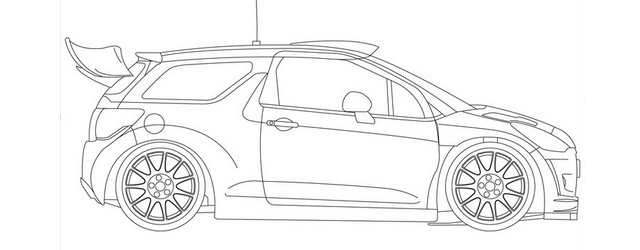 Kit Classic n°210 CITROEN DS3 WRC MEEKE / OSTBERG MONTE CARLO 2014
