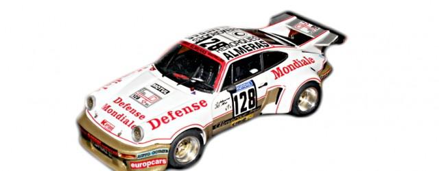 Montage EHL43 Porsche Carrera RSR n°128 Jacques Almeras/Jean François Mas 6ème au Scratch Tour de France Auto 1974