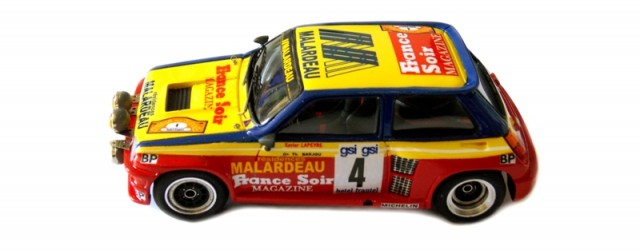 Création et Montage EHL43 Renault 5 Turbo n°4 Xavier Lapeyre/Thierry Barjou Critérium des Cévennes 1982